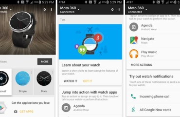 Android Wear App v1.1