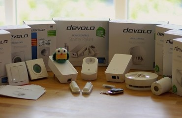 Devolo Home Control Header