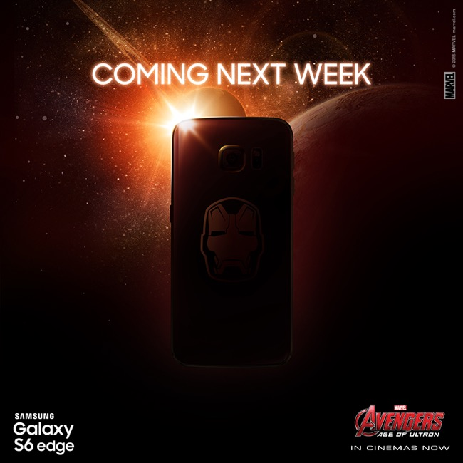 Galaxy S6 Iron Man Edition