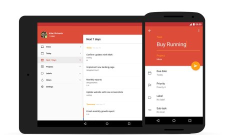 Todoist Android Material Design 01