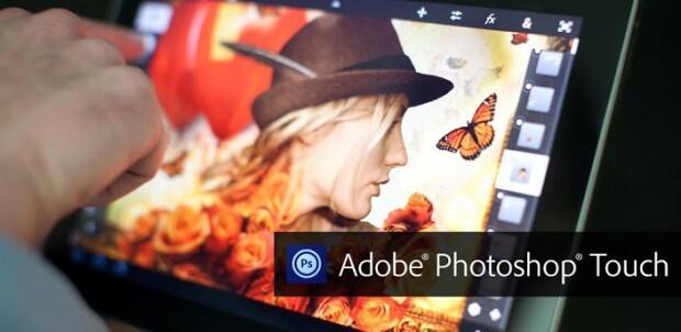 adobe photoshop touch header