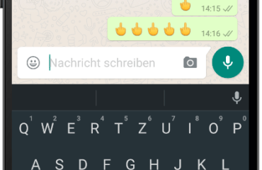 whatsapp stinkefinger