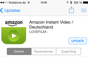 Amazon Instant Video ios