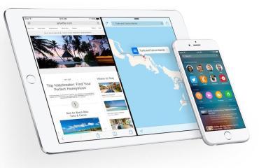 Apple iOS 9 Header