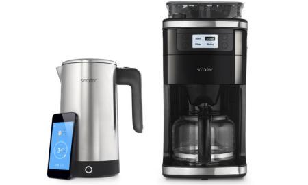 Smarter Kaffeemaschine und iKettle 2.0 Wasserkocher mit WiFi