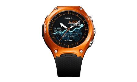 Casio WSD F10 Android Wear Smartwatch Header