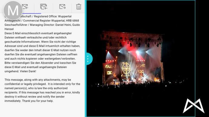 Huawei Mate 8 Splitscreen