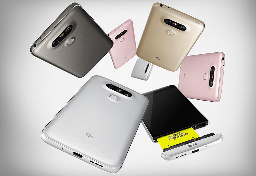 LG G5 Farben