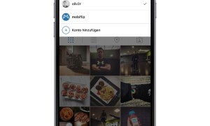 instagram multi user ios