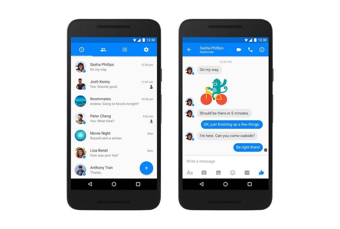 Facebook Messenger Android Header