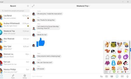 Facebook Messenger Windows 10