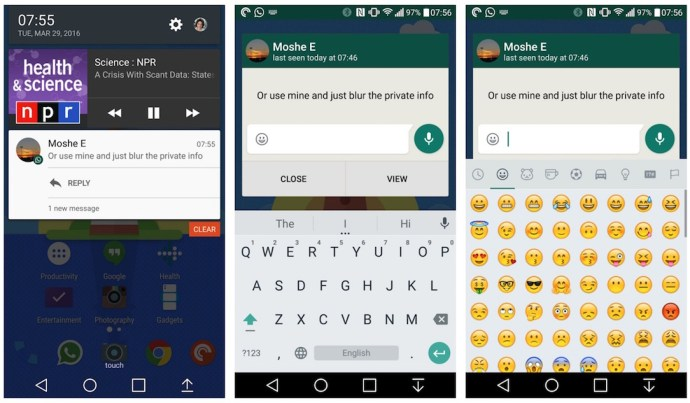 WhatsApp Beta Android Quick Reply