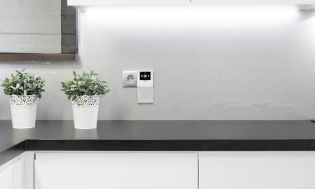 Cozy kitchen interior