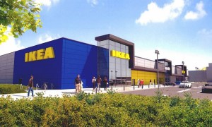 Included are new artist impressions of the IKEA store at Welligton Industrial Estate.