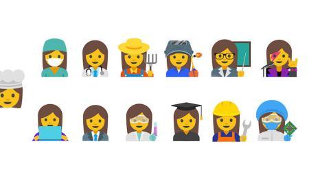 Emoji Frauen Arbeit