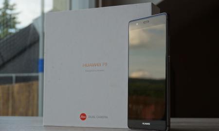 Huawei P9 Test Header