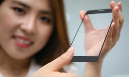 LG Fingerprint Sensor Glas