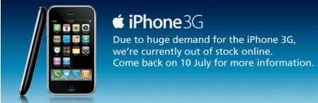 iPhone 3G loppu