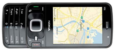 Nokia N96 Maps