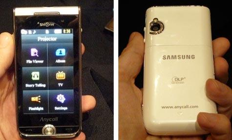 Samsung Show projektoripuhelin