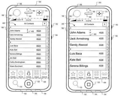 iPhone käyttöliittymä
