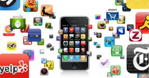 iPhone ohjelmia