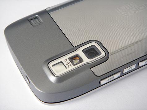 Nokia E75 takaa