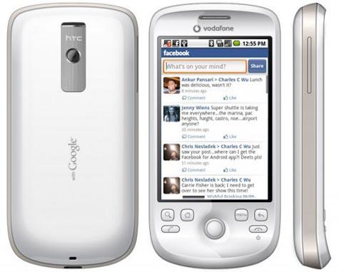 HTC Magic Facebook
