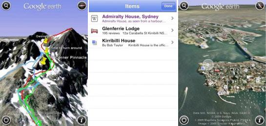 Google Earth 2.0 iPhone