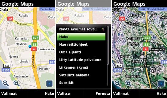 Satio Google Maps