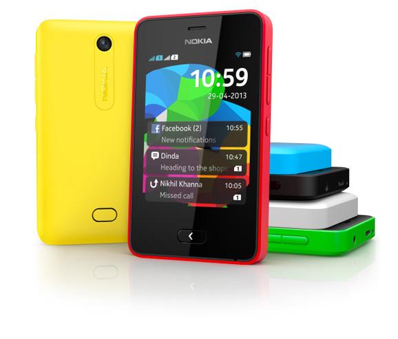 Asha 501, Nokia