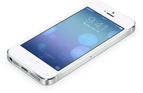 iPhone 5, iOS 7