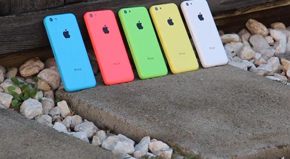 iPhone 5C värit