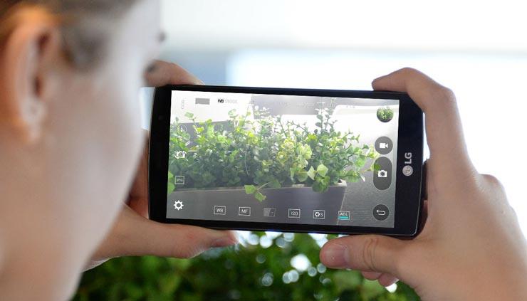 LG G4s kamera