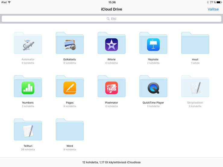 iOS 9, iCloud Drive