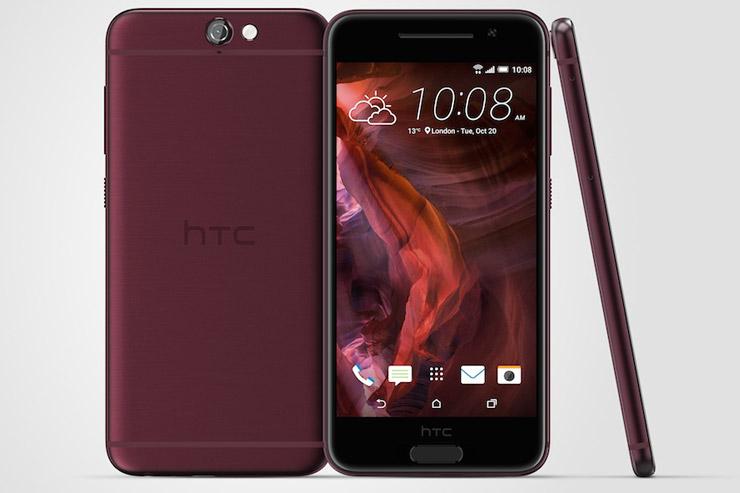 HTC One A9 punainen