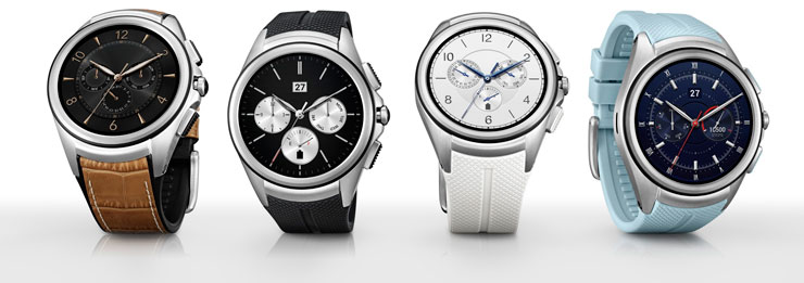 LG Watch Urbane 2nd Edition colors