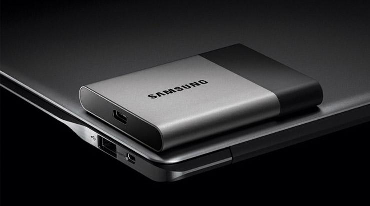 Samsung portable SSD T3 USB Type-C 3.1