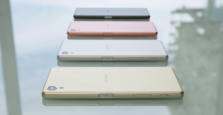 Sony Xperia X colors