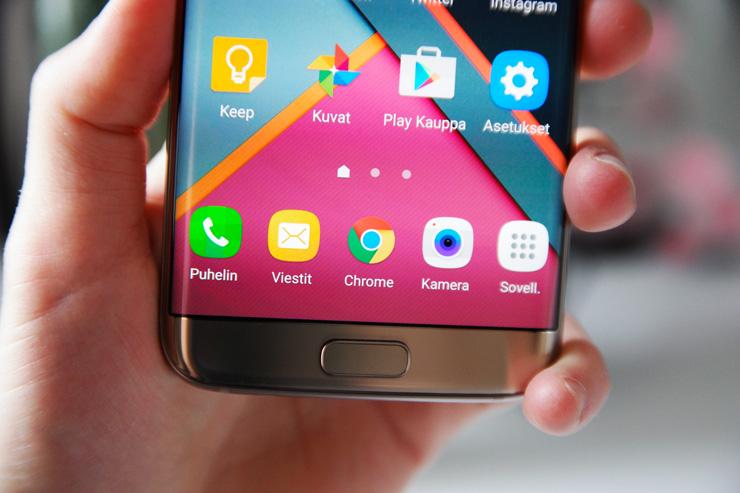 Galaxy S7 kotipainike