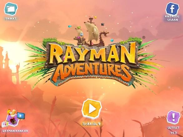 Rayman Adventures, iPad Pro