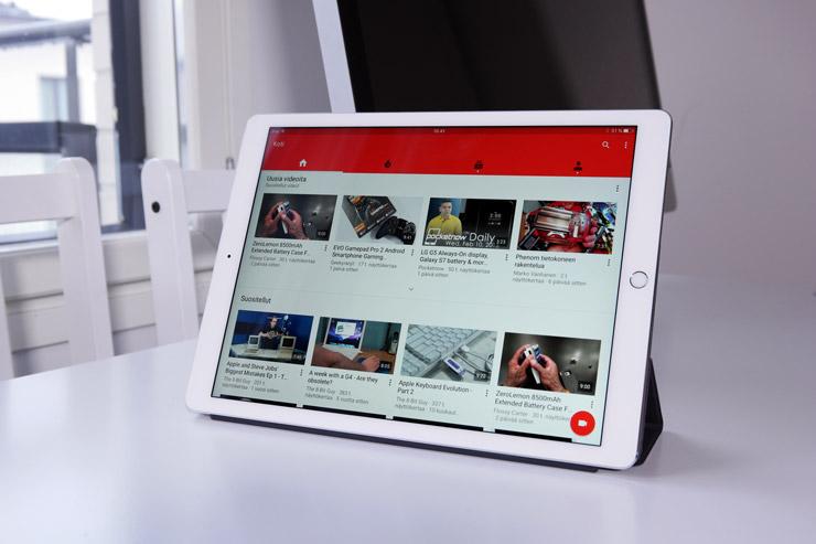 iPad Pro YouTube