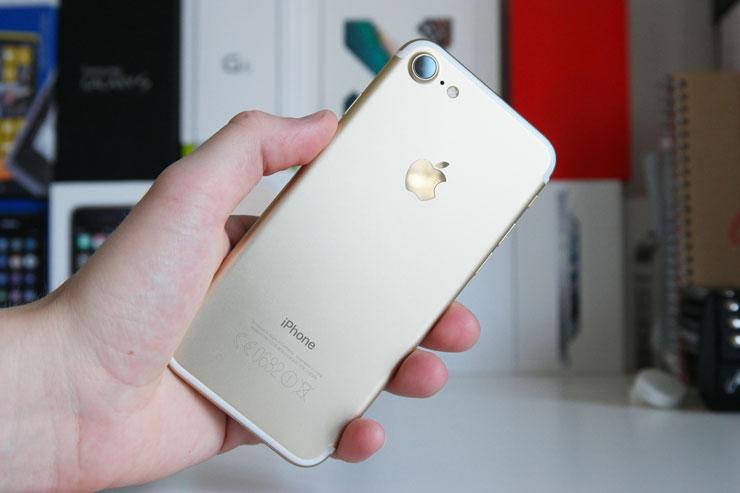 iPhone 7 kulta