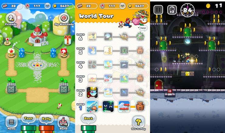 Super Mario Run, iPhone