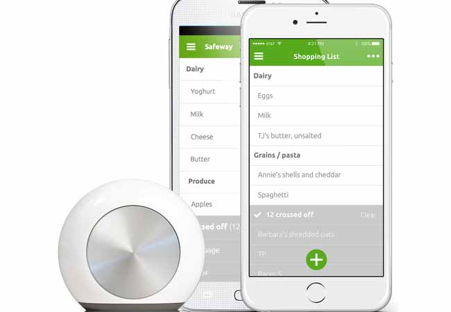 The Latest Hiku Kitchen Button Is Smart Enough for Your Grocery Shopping