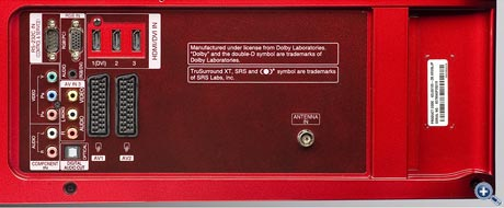 LG 42 LG 6100 - Connection Panel