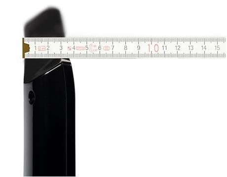 LG 42LH7000 side size omparison test review
