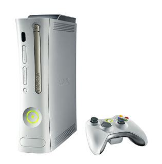 white XBox 360 Console