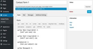 10 Contact Form Plugins for WordPress Blogs