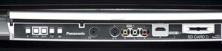 Panasonic TH-42 PZ 800 E - SD Card Reader